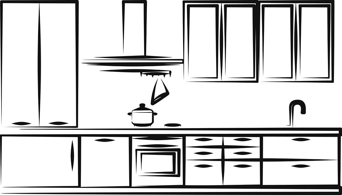 Standardowe Wymiary Szafek Kuchennych Meble Na Wymiar